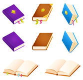 Set of simple book illustrations Royalty Free Stock Photo