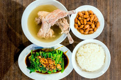 Singapore bak kut teh Stock Images