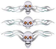 Set skull Stock Photo