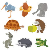 Set of  small animals - vector Stock Photography
