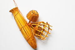 Set of small basketry for lucky Royalty Free Stock Image