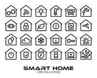 Smart Home Icon Collection Royalty Free Stock Image