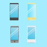 Set of smart phone icons Royalty Free Stock Image
