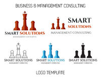 Set of Smart solutions logo template. Business Stock Photography