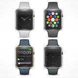 Set of smart watch Stock Images