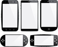 Set of smartphone concepts. Stock Image