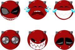 set smiles διανυσματική απεικόνιση