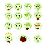 Set smiles Stock Photos