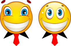 Smiley icons Stock Photo