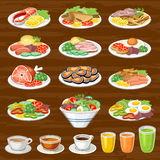 Set of snack Stock Images