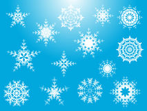 Set snowflake Stock Images