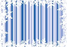 Set of snowflakes background Stock Images