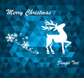 Set of snowflakes background Stock Image