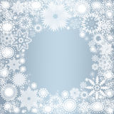 Set of snowflakes. Collection of snowflakes (set of snowflakes) illustration Stock Image