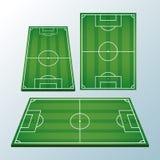 Soccer camp fields. Set of soccer camp fields vector illustration graphic design royalty free illustration