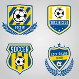 Set of Soccer Football Club Logo vector illustration