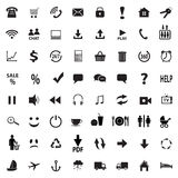 Set social icons Stock Photography