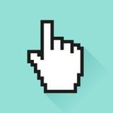 Set of social media icon. Сursor hand Stock Images