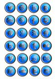 Set social network icons Royalty Free Stock Photo