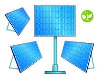 A set of solar panels. Alternative energy. Stock Images