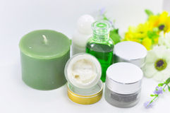 Set of SPA accessories Stock Photo