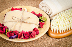 Set spa concept. royalty free stock image
