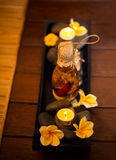 Set for spa massage Royalty Free Stock Photography