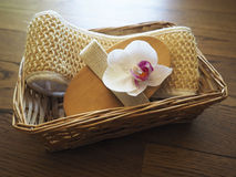 Set for spa-procedures Royalty Free Stock Photography