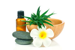 Set for spa treatment Stock Photography