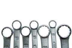 Set of spanners Stock Photos