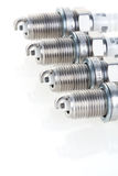 Set of spark plugs Royalty Free Stock Images