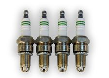 Set of spark plugs Stock Photos