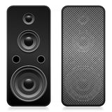 Set of speakers Stock Images