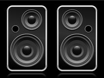 Set of speakers Royalty Free Stock Photo