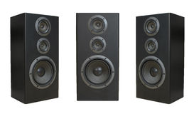 Set of speakers Royalty Free Stock Photos