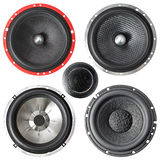 Set of speakers Royalty Free Stock Image