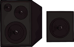 Set of Speakers Stock Photography