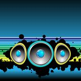 Set of speakers Royalty Free Stock Photography