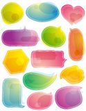 Set of special labels and bubble,  Royalty Free Stock Photo