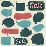 Set of special labels and bubble, vector Royalty Free Stock Image