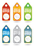Set of special promotion label Royalty Free Stock Images