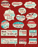 Set of special sale offer labels and banners Royalty Free Stock Photography