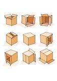 Set of Speech box. Royalty Free Stock Photography