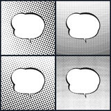 Set of Speech Bubble, Pop Art Stock Image
