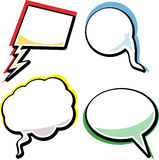 Set of speech bubble Stock Images