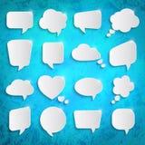 Set of speech bubbles Royalty Free Stock Photo