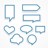 Set of speech bubbles Heart. Bubble Icon Object. Bubble Icon Picture. Bubble Icon Image. Bubble Icon Graphic. Bubble Icon Art. Bubble Icon JPG. Bubble Icon EPS Royalty Free Stock Photography