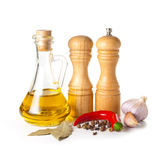 Set of spice. On a white background Stock Photography
