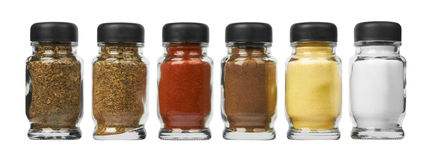 Set of spices Stock Photography