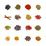Set of spices Royalty Free Stock Photo